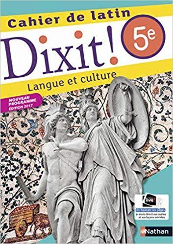 Dixit Cahier De Latin 5e Lecture En Ligne Pdf Epub Mobi Telechargement Telecharger Gratuit Livres A Lire