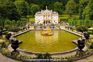 Zamki Ludwika Ii Zwanego Szalonym Krola Bawarii To Nie Tylko Slynny Neuschwanstein Ktory Zainspirowal Disneya To Takze Neobarokowy Palac Li Schloss Linderhof