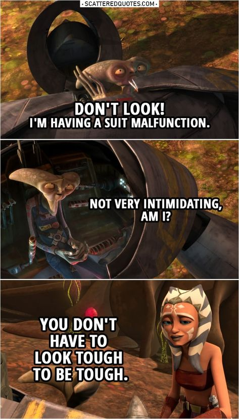 100+ Best 'Ahsoka Tano' Quotes | Scattered Quotes