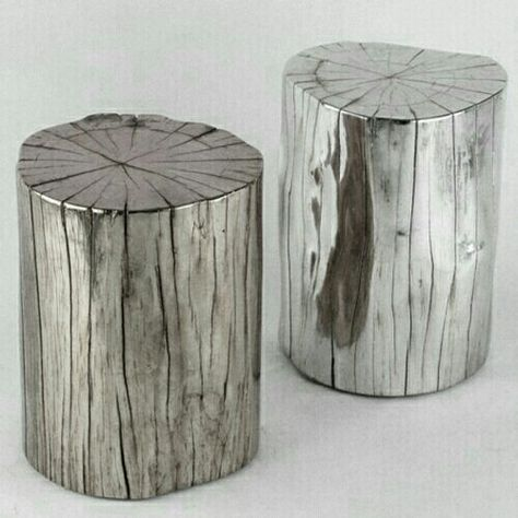 Wood Stumps/leather Top..Iu0027m Putting A Call Out To Anyone In SO.Cali. If  Your Cutting Down A Tree CALL ME :D | Divine Design | Pinterest | Tree Stump,  ...