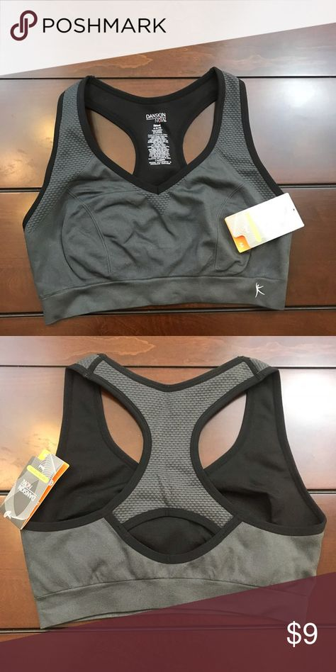 dda489b902d50 🆕Danskin Sports Bra Danskin Black   Gray Sports Bra Danskin Intimates   Sleepwear  Bras
