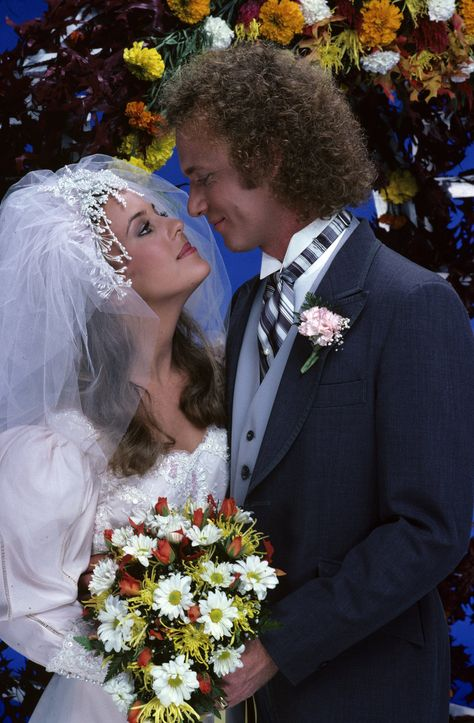 Laura (Genie Francis) and Luke (Anthony Geary) put their turbulent past behind them and married on the grounds of the Port Charles mayor's mansion, on Monday, Nov. 16 and Tuesday, Nov. 17, 1981, when ABC Daytime invited the world to tune in to the daytime wedding of the decade, on