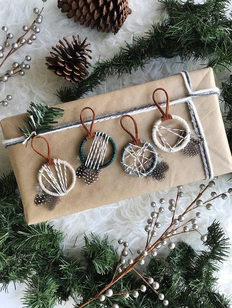 Woodland Christmas Ornaments, Nordic Snowfall Ornaments, Modern Winter Decor, Rustic Holiday, Xmas Gifts for Coworkers, Small Dreamcatcher -  image 0  - #Christmas #Christmasaesthetic #Christmascards #Christmascrafts #Christmasdecorations #Christmasmood #Christmasnails #Christmaspictures #Christmasquotes #Christmastree #Coworkers #Decor #Dreamcatcher #gifts #Holiday #merryChristmas #Modern #Nordic #Ornaments #Rustic #Small #Snowfall #Winter #Woodland #Xmas