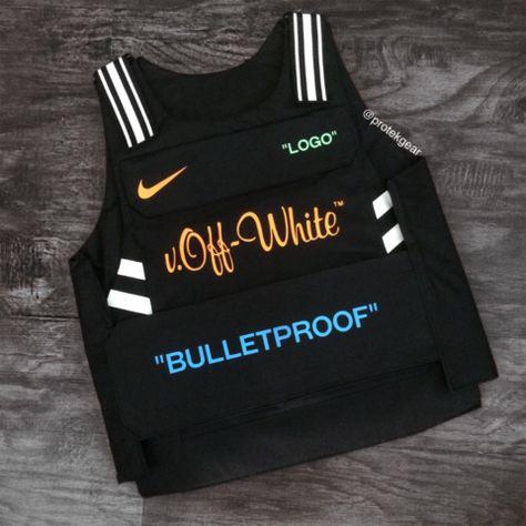 OFFXNIKE INSPO BULLETPROOF VEST Fashion Fake