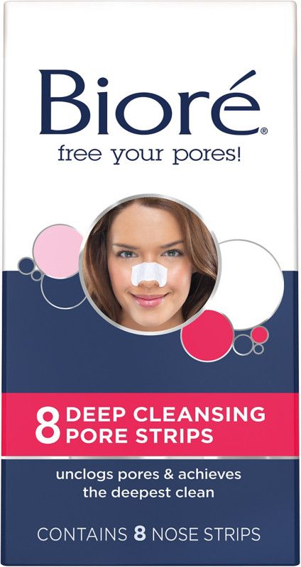Biore Deep Cleansing Pore Strips With Images Pore Strips Nose