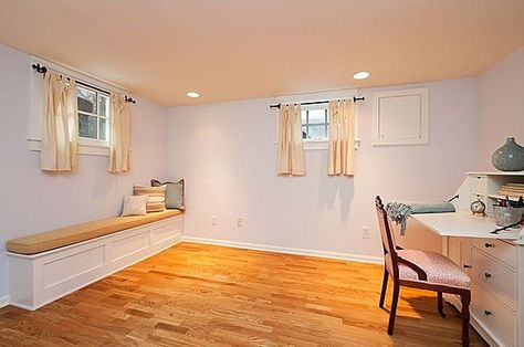 Basement Window Curtain Length Chambre Finition De Sous