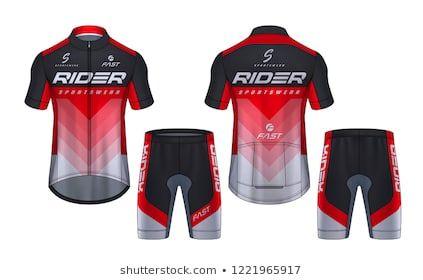 Download Nattanopdesign S Portfolio On Shutterstock Bike Jersey Design Jersey Design Biking Outfit