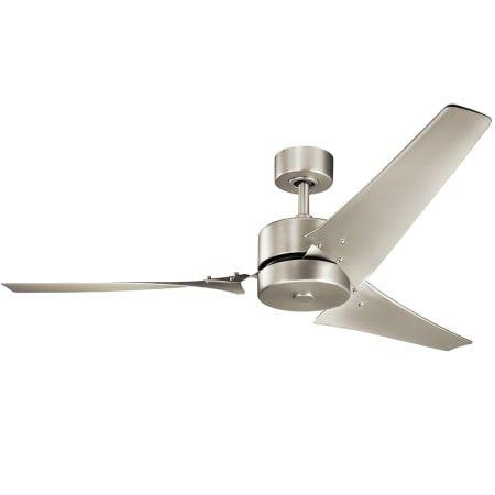 Kichler 330010ni 60 Motu Indoor Ceiling Fan Build Com Ceiling Fan 60 Inch Ceiling Fans Ceiling Fan With Light