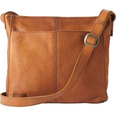 c9ec21a40 Women s Lifetime Leather Medium Sling Bag COGNAC