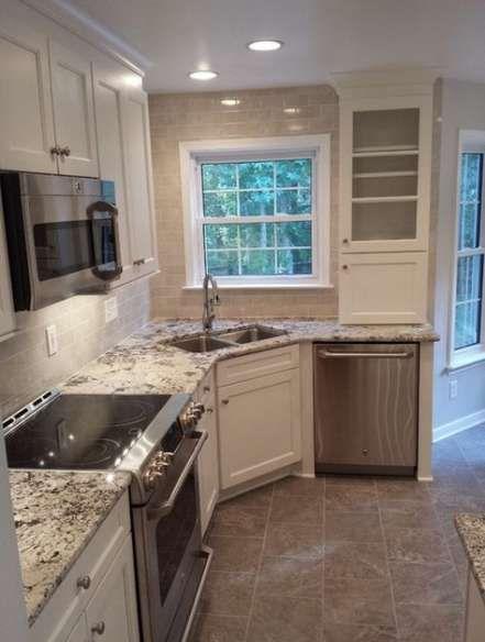 Kitchen Sink Wall No Window Layout 30 Trendy Ideas Kitchen Remodel Small Kitchen Remodel Design Kitchen Layout