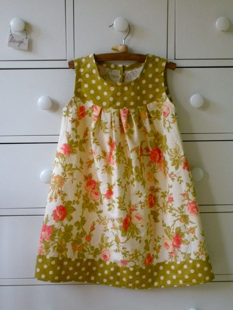 little girls dress patterns simple   This pattern is simple enough for a beginning seamstress, with clear ...