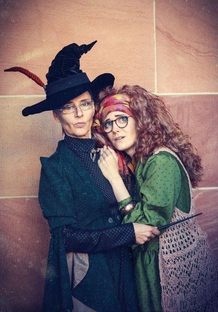 Minerva Mcgonagall Sybill Trelawney Harry Potter Series Zwillingsnadel As Prof Sybill Trel Harry Potter Costume Harry Potter Halloween Party Harry Potter
