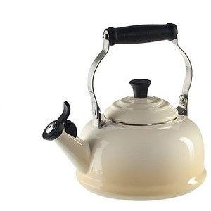 Classic Retro Whistling Kettle Black