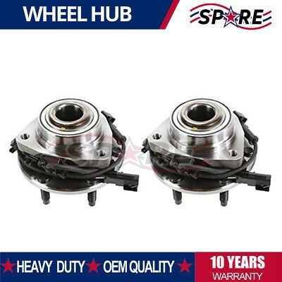 Details About 513188 2 Front Wheel Bearing Hubs For Chevy