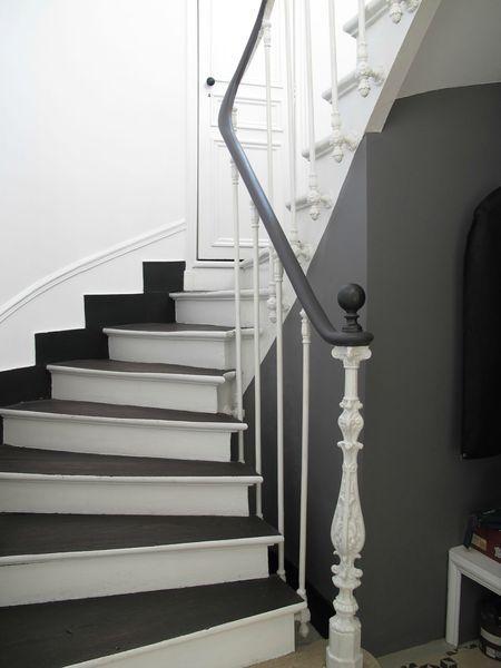 idée déco cage escalier entrée Edwardian hallway, Staircases and