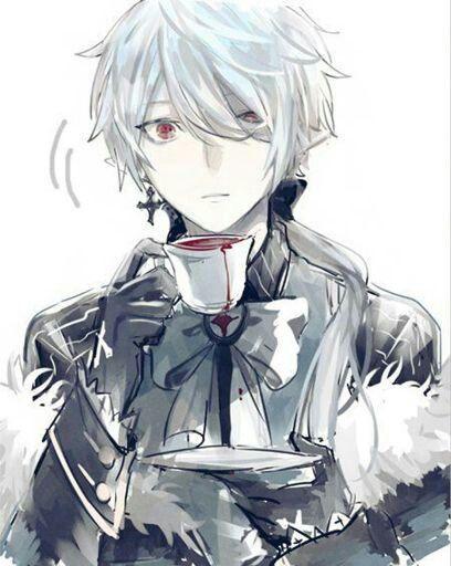 The Prince Of The Abyss Highschooldxd Fanfic On Hiatus Shin Bio Anime Boy Hair Vampire Boy White Hair Anime Guy
