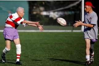The Tokyo Rugby Club Keeping Elderly Players Healthy Rugby Club Rugby Rugby News