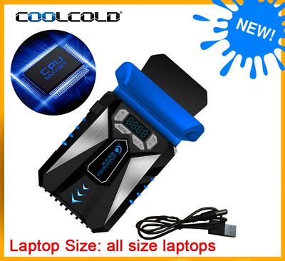 Coolcold Portable Laptop Cooler Air External Extracting Cooling