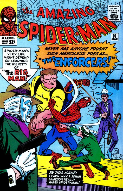Amazing Spider Man Vol 1 10 Classic Comic Books Avengers Comics Marvel Comics Covers