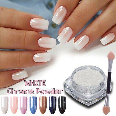 Born Pretty 0 2g Effect Mirror Glitter Chrome Powder Nail Art Pigment Pearl Nails Powder Nails Chrome Nail Art