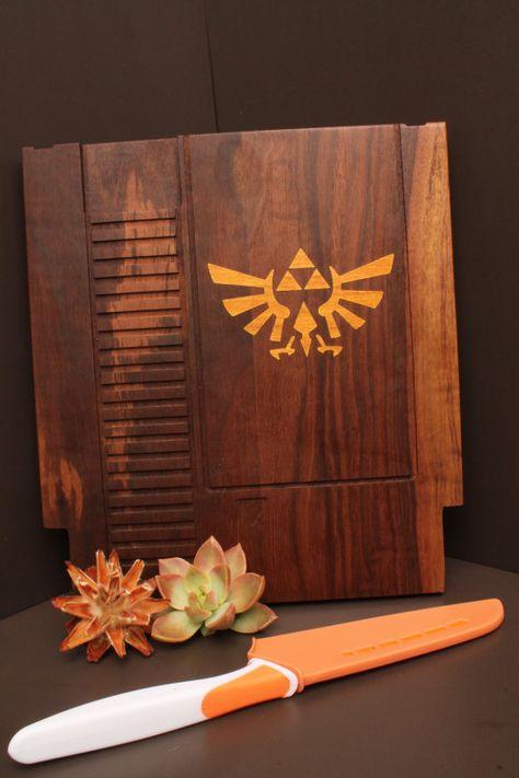 12x13 LARGE Zelda Inlay 8bit Game Cartridge by CuttingBoredom