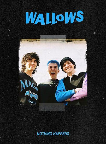 Movie Posters Discover Wallows Band Poster by Bedroom Wall Collage, Photo Wall Collage, Picture Wall, Room Decor Bedroom, Poster S, Poster Wall, Poster Prints, Room Posters, Band Posters