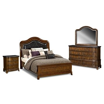 Kingston Bedroom Collection - Value City Furniture-Queen Bed $599.99 ...