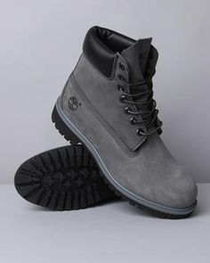 Timberland - Premium Boots Tim could use some grey Tim's.