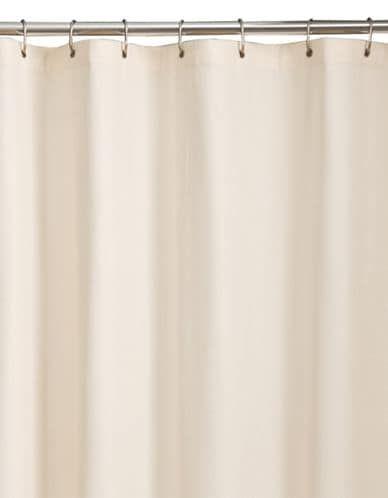 Maytex Embossed Shower Curtain Liner Bone Curtains Shower Bones