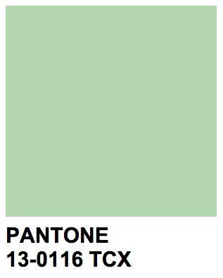 Pantone 13-0116 TCX Pastel Green