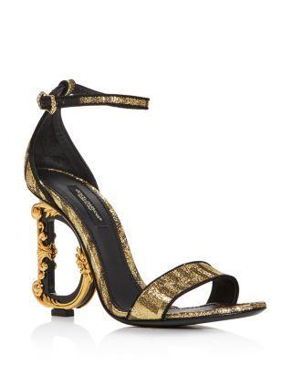D\u0026G Sculpted High Heel Sandals Shoes