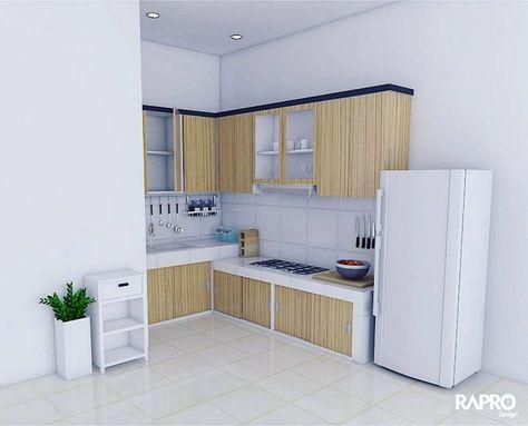 Gambar Kitchen Set Minimalis 2018 Minimalist Kitchen Kitchen Sets Kitchen Design