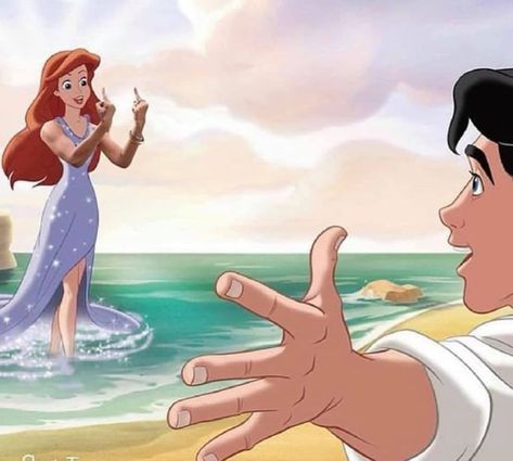 Disney Princesses Giving The Finger