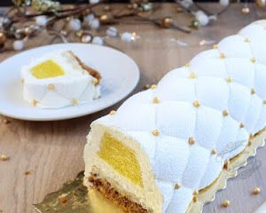 Buche de noel vanille caramel cyril lignac
