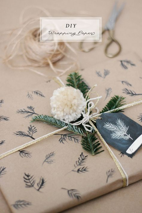 diy gift wrap #diy #gift