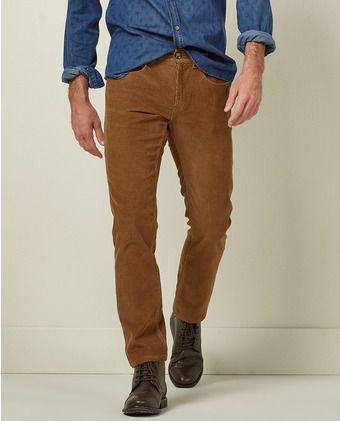 Hombre De Sfera Pana Pantalones Pantalón MarrónRopa nO0kwP