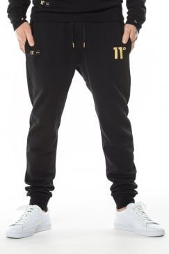 Gold Logo Joggers Black 49 99 Joggers Black Joggers Mens Joggers
