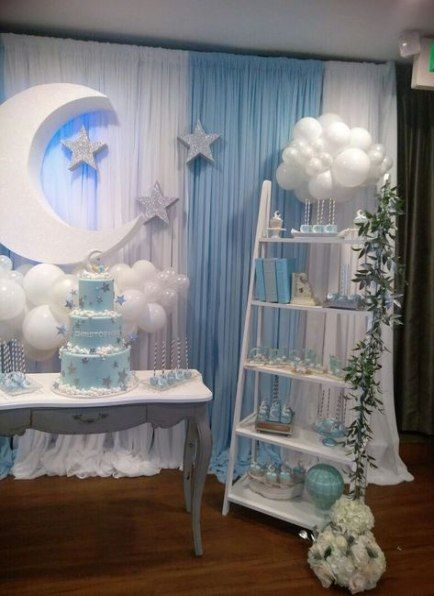 38 Ideas Baby Shower Centerpieces For Boys Clouds For 2019
