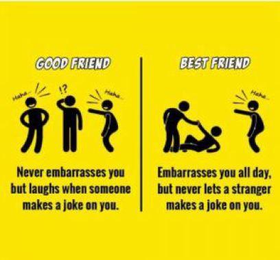 Good Friends Memes Happy Friendship Day 2018 Friend Memes Best Friend Vs Friend Friends Quotes