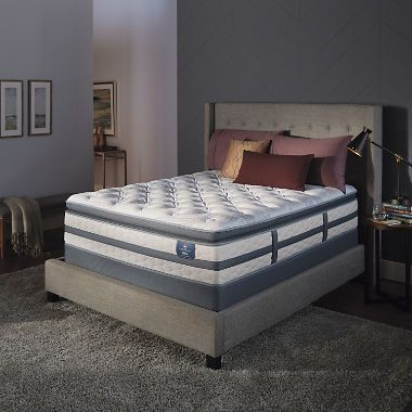 Serta Perfect Sleeper Glenmoor 2 0 Pillowtop Queen Mattress Set
