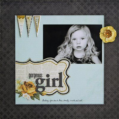 Gorgeous Girl - Club CK - The Online Community and Scrapbook Club from Creating Keepsakes