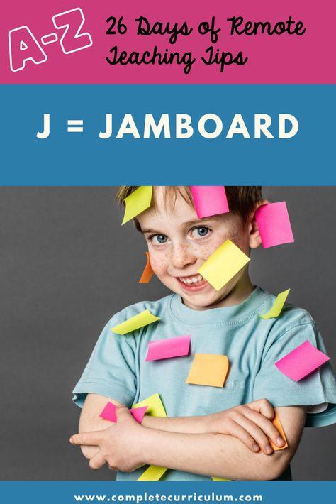 Use Google Jamboard in your virtual class