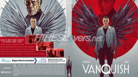 DVD Cover Custom DVD covers BluRay label movie art - Blu-ray CUSTOM Covers - V / Vanquish (2021)