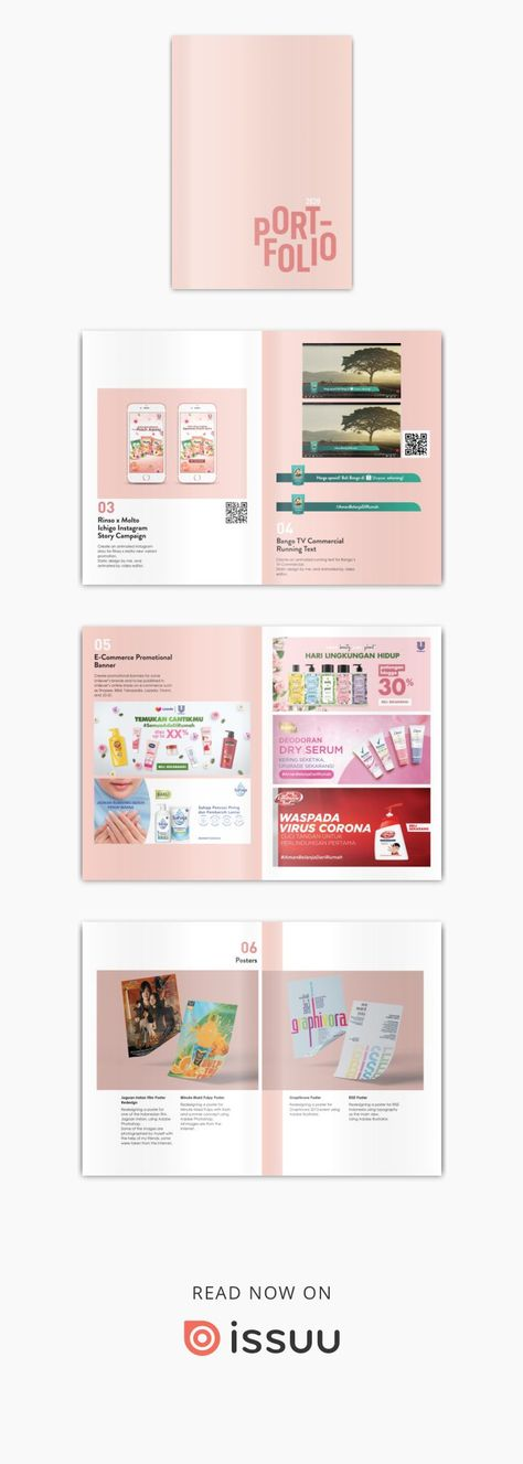 Graphic Design Portfolio by Roseline