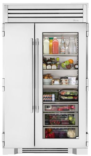 True Residential The True 48 Glass Door Refrigerator Glass Door Refrigerator Glass Door Glass Door Fridge