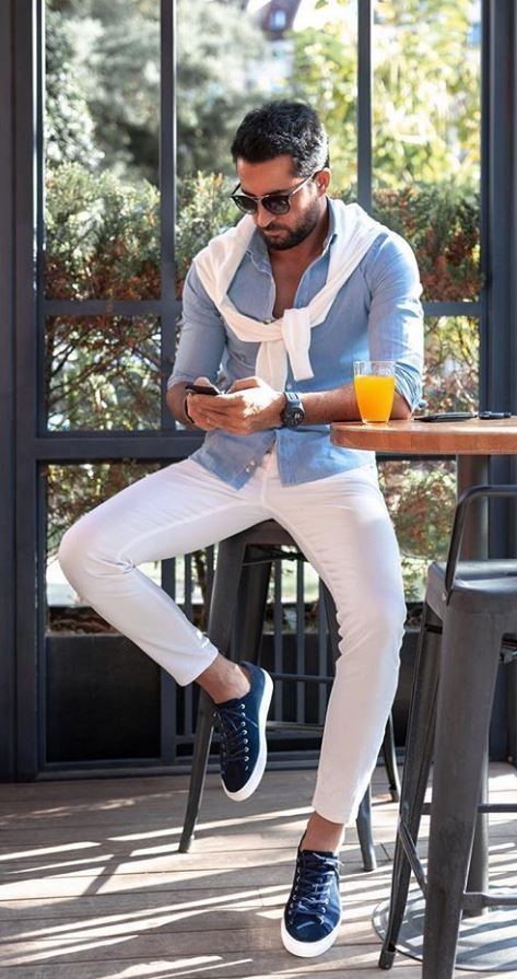 30 Hot Men's Fashion Style Outfit Ideas to Impress Your Girl - Shake that bacon