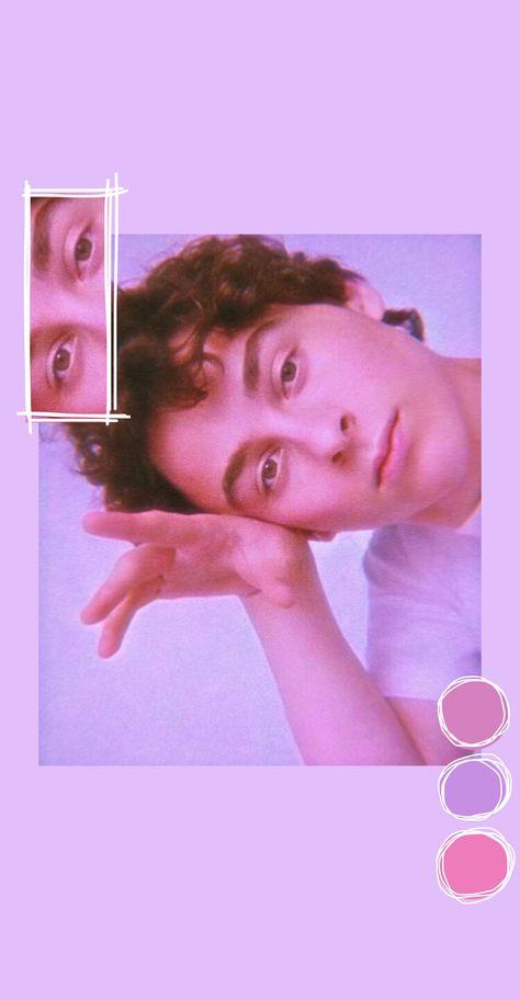 Wyatt Oleff Aesthetic Pink Wallpaper