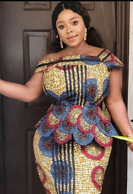 Ankara Peplum Styles 2021 For African Women   Latest african fashion dresses, Ankara peplum styles, African fashion