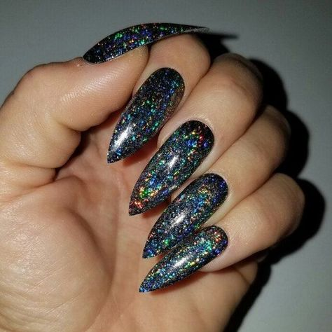 A Startling Fact about Holographic Nail Uncovered  Nails