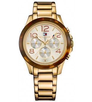 Zegarek Damski Tommy Hilfiger Tommy Hilfiger Watches Gold Watch Tommy Hilfiger
